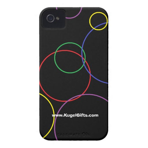 """""""Rings"""" Case-Mate ID 4/4S iPhone 4 Cover"""