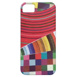 rings, circles, and checks mini collage barely there iPhone 5 case
