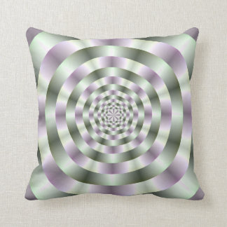 Rings in Green and Purple American MoJo Pillows