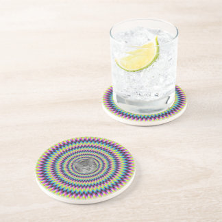Rings Of Color cat Coaster