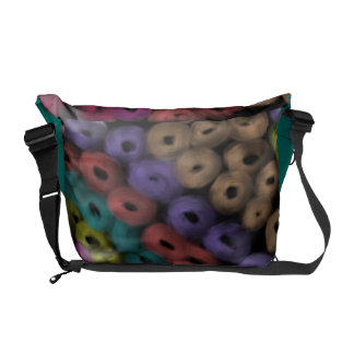 Rings of Color Courier Bag