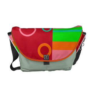 Rings of Colors Rickshaw Messenger Bag