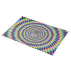 Rings Of Colour Cat Placemat