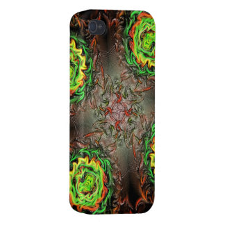 Rings of Fire iPhone 4 Covers