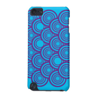 Rings (Purple/Blue) iPod Touch Case