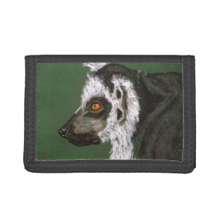 RINGTAILED LEMUR TRIFOLD WALLETS