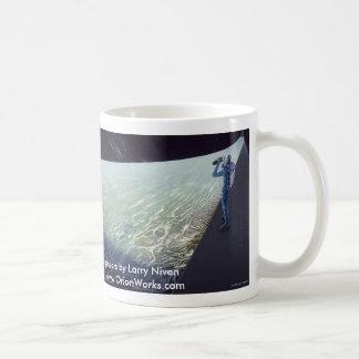 RingWorld: Over the Edge, RingWorld: Over the E... Basic White Mug