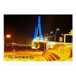 Rio-Antirrio bridge Postcard