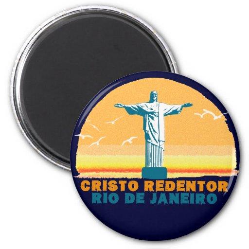 Rio - Corcovado - Jesus Christ the Redeemer Magnet