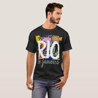 Rio de Janeiro Brazil Cool Graffiti Mural Shirt, 2 T-Shirt