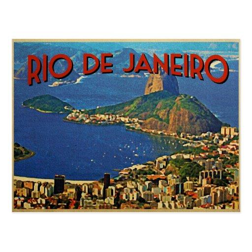 Rio de Janeiro Brazil Post Card