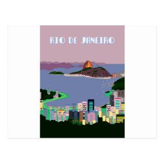 Rio de Janeiro -BRAZIL Postcard