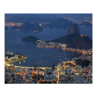 Rio de Janeiro, Brazil Poster