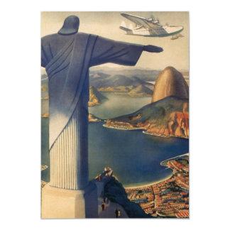 Rio De Janeiro, Christ the Redeemer Invitation