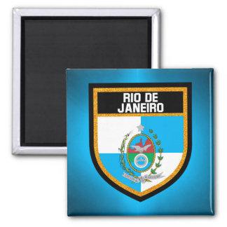 Rio de Janeiro Flag Magnet