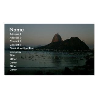 Rio De Janeiro Island Business Cards