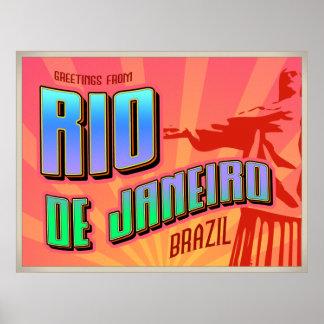 RIO de JANEIRO poster