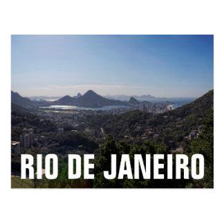 Rio De Janeiro South Zone Postcard