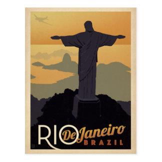 Rio De Janiero, Brazil Postcard