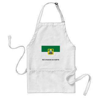 Rio Grande do Norte, Brazil Flag Standard Apron