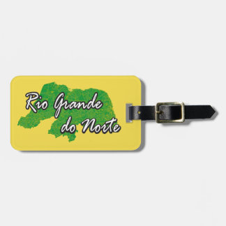 Rio Grande do Norte Luggage Tag