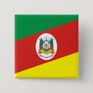 Rio Grande Do Sul Brasil, Brazil 15 Cm Square Badge
