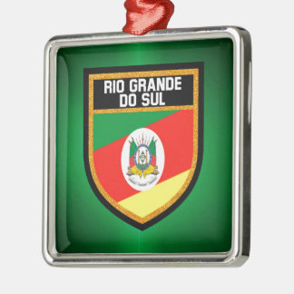 Rio Grande do Sul Flag Metal Ornament