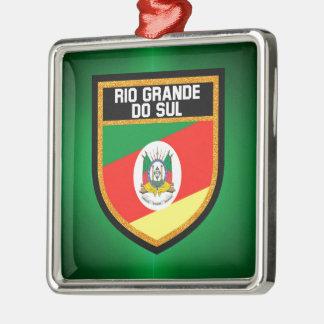 Rio Grande do Sul Flag Metal Ornament