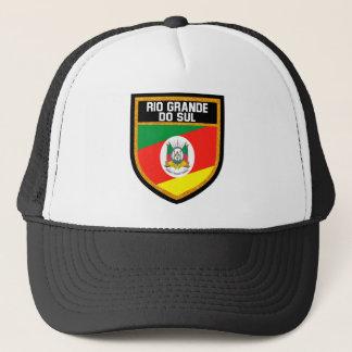 Rio Grande do Sul Flag Trucker Hat