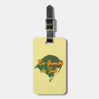 Rio Grande do Sul Luggage Tag