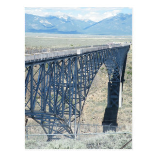 Rio Grande Gorge Bridge Postcard