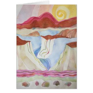 Rio Grande Gorge, South of Taos, NM Card