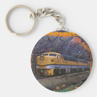 Rio Grande's Prospector in the Royal Gorge Key Ring