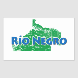 Rio Negro Rectangular Sticker