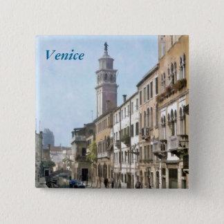 Rio Ognissanti, Venice 15 Cm Square Badge