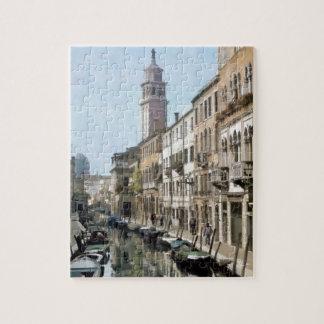 Rio Ognissanti, Venice Jigsaw Puzzle