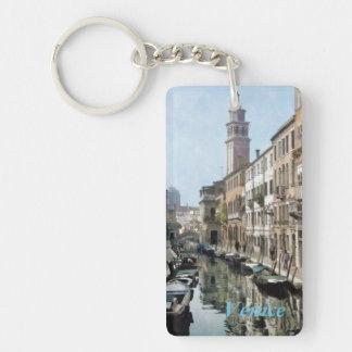 Rio Ognissanti, Venice Single-Sided Rectangular Acrylic Key Ring