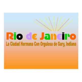 Rio Postcard Blue Sky