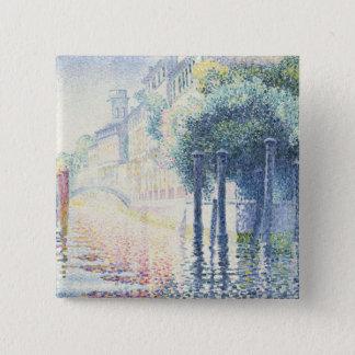 Rio San Trovaso, Venice, 1903-4 15 Cm Square Badge