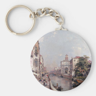 Rio St. Geronimo, Venice by Franz Richard Basic Round Button Key Ring