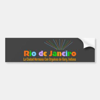 Rio Test Bumper Sticker Part 2 All Black Backgroun