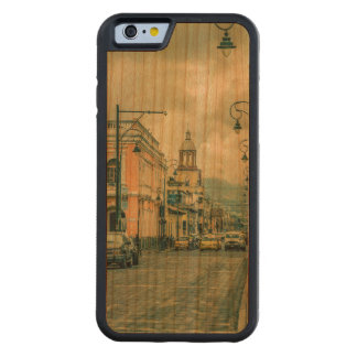 Riobamba Historic Center Urban Scene Carved Cherry iPhone 6 Bumper Case