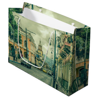Riobamba Historic Center Urban Scene Large Gift Bag