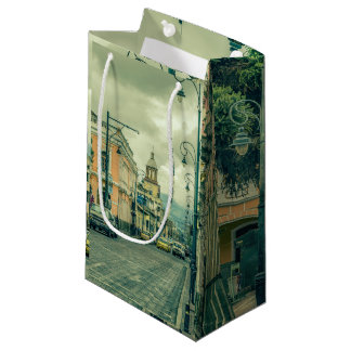 Riobamba Historic Center Urban Scene Small Gift Bag