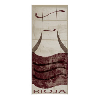 Rioja Wine Print
