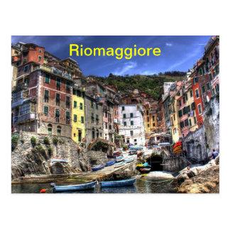 Riomaggiore postcard