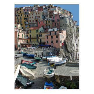 Riomaggiore Village Italy Cinque Terre Post Cards
