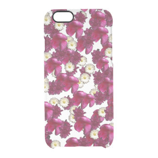 Riot of Flowers by KCS Clear iPhone 6/6S Case
