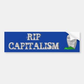 RIP Capitalism Bumper Sticker
