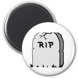 Rip Head stone Magnet
